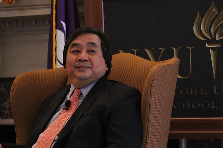 Students speak out against Harold Koh