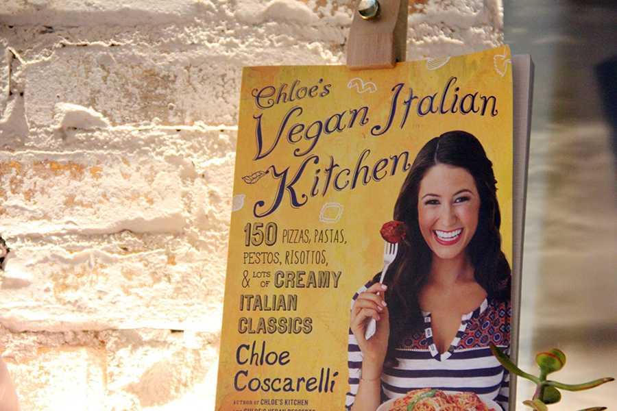 Newly opened Vegan Restaurant on Bleecker Street, By Chloes cookbook.
