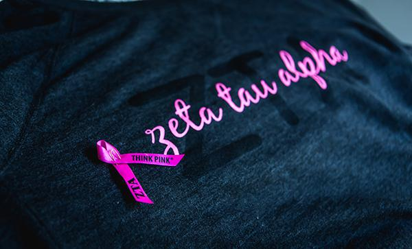 NYU Sorority, Zeta Tau Alpha, have been working hard to raise money to enable the American Cancer Society to fund crucial breast cancer research.