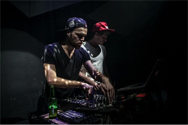 Electronic Sound Outfit, also known as E.S.O., is a DJ duo made up of Nick Kohler and Alex Blanton, both NYU students who played in a lot of gigs around the city.