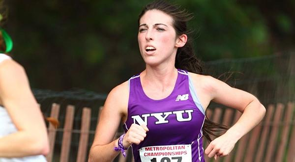 Emily Dethlefs helped NYU to fifth-place finish at the ECAC Championship on Saturday, November 7.