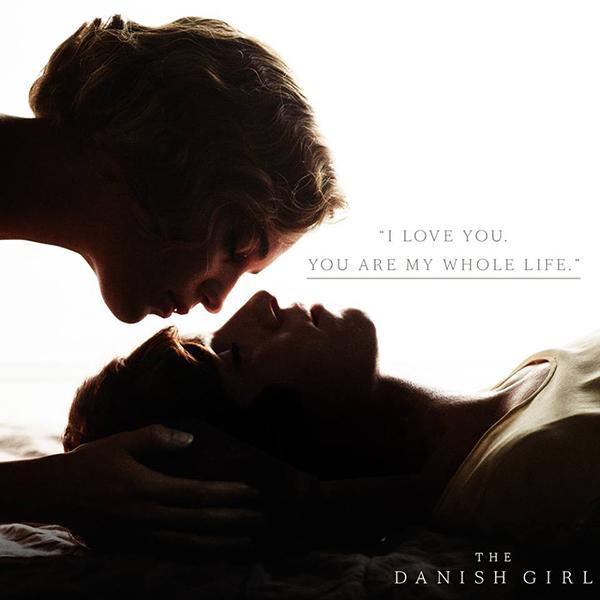 "Alicia Vikander and Eddie Redmayne star in Tom Hooper's new film ""The Danish Girl""."