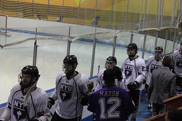 NYU Hockey won their games against both University of New Hampshire and Boston College.