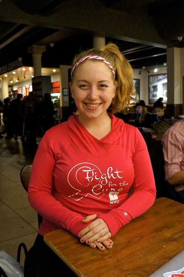 Johanna Rachel Mullen, a junior at Tisch, works multiple jobs on campus.