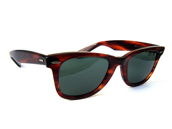 The Ray Ban's Wayfarer is a classes shape that pairs well with both casual and formal looks.