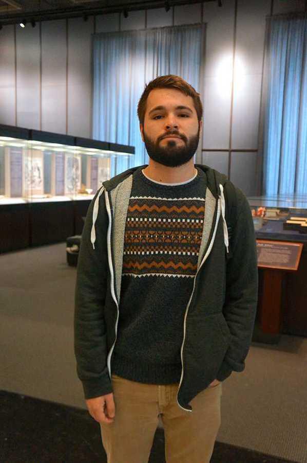 Sophomore Brandon Warrick travels to Brooklyn to work at La Luz, an antique shop in Bushwick.