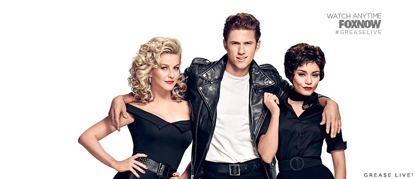 Julianne Hough, Aaron Tveit, Vanessa Hudgens starred in Foxs highly anticipated live production of Grease which aired on January 31st.