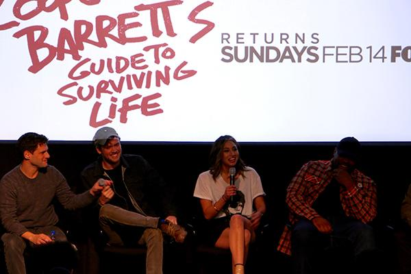 The cast of Cooper Barrett's Guide to Surviving Life stop by the NYU Cantor Film Center for a Q&A about their new series on Fox.