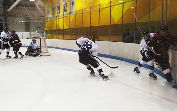 The NYU men's hockey team is one of NYU's most talented, hardworking and gritty groups of students.