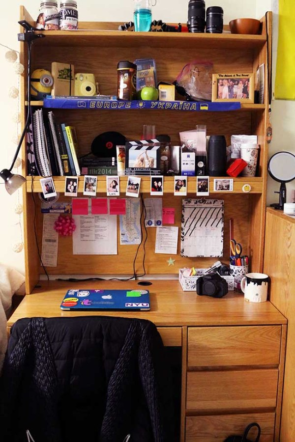 Keeping your space clean and organized will make your living space look bigger and better to deal with.
