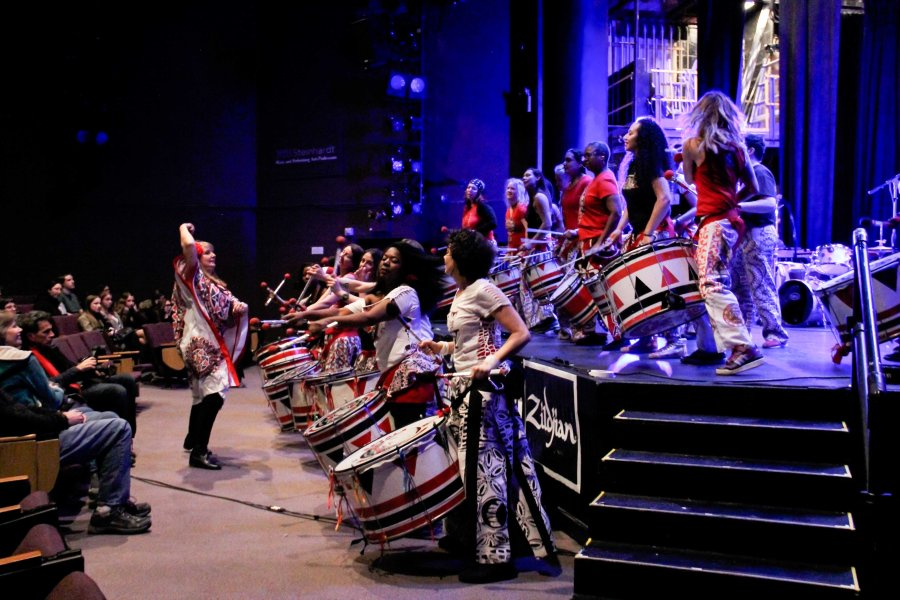 Batala NYC takes the stage at NYU's
