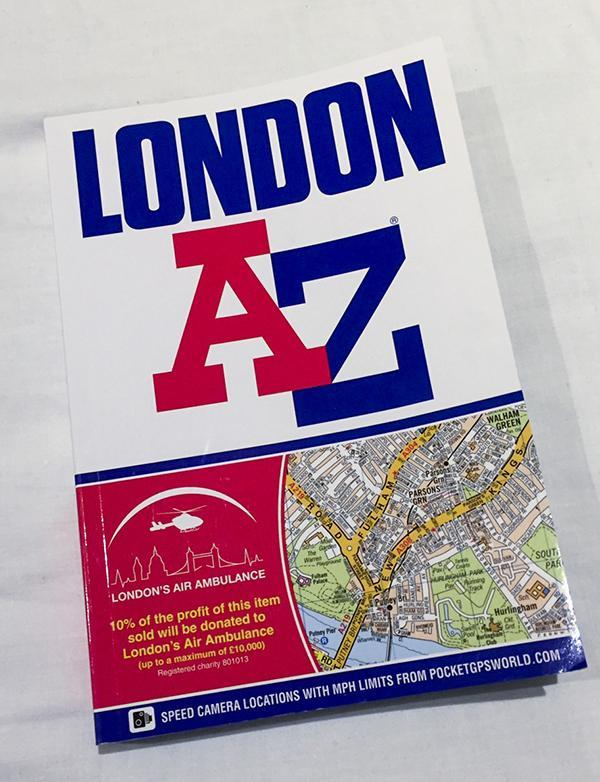 Even with a map in hand, Thomas Devlin found out that navigating London was harder than he thought.