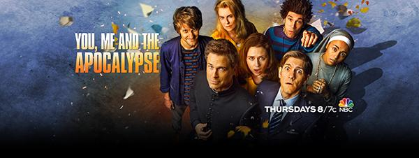 You, Me and the Apocalypse premiered in the US last Thursday, Jan 28, on NBC.