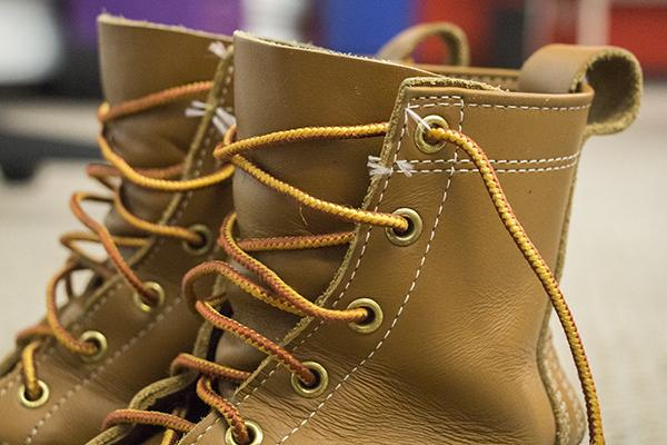 Leather and laces this winter will keep you warm and dry while you stay stylish.