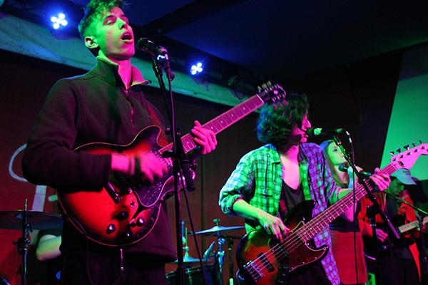 Twin Marquis, an NYU student band, played a show at Pianos on Feb 3.