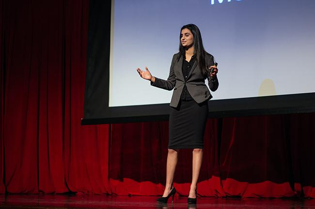 NYU students pitched proposals for an upcoming TEDxNYU event in April.