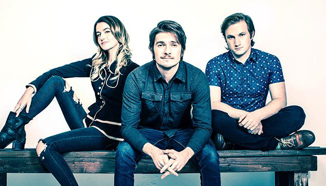 Los Angeles-based trio Fairground Saints is currently touring as the opener for Carly Rae Jepson.