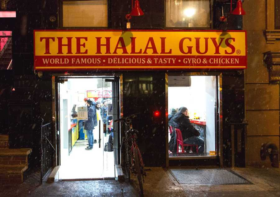 The Halal Guys are one of the many places to offer diverse cuisines in New York City.