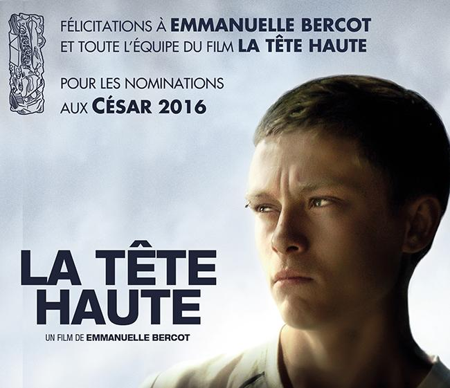 French film Standing Tall is better known by the title La Tête Haute and premiered at the Cannes Film Festival in 2015.