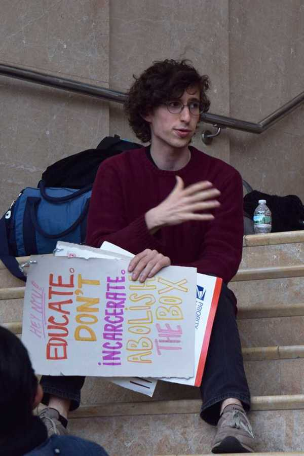 The Incarceration to Education Coalition met with NYU President Hamilton Monday, the second term agreed upon during IEC's 33-hour sit in earlier this month.