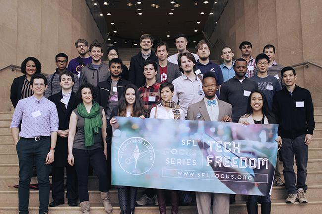 Students for Liberty, an international not for profit Libertarian organization, put on a Tech Freedom Conference to discuss a whole array of topics.