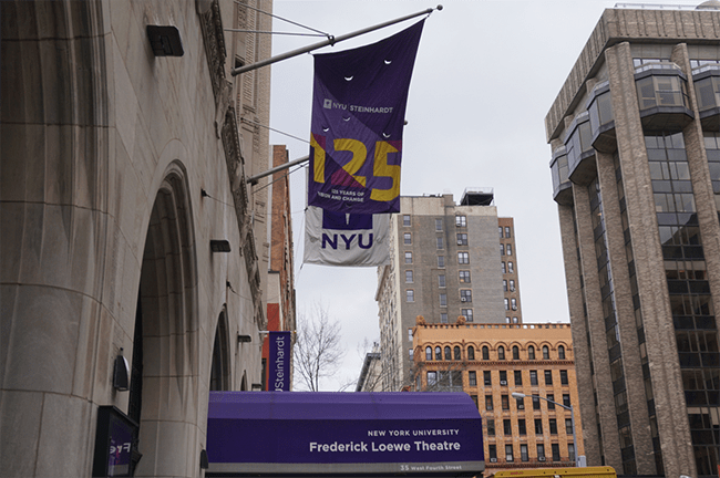 NYU has named Katherine Fleming as the new Provost after David McLaughlin stepped down.