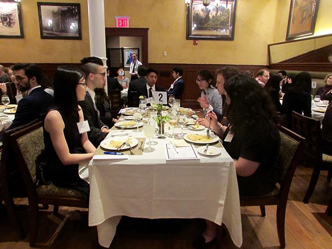 If you have a job interview over a meal, chew your way to success with proper etiquette.