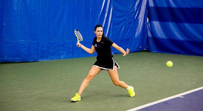 Women%27s+tennis+claimed+multiple+victories+at+the+UAA+championships+in+Florida.+%28Courtesy+of+NYU+Athletics%29