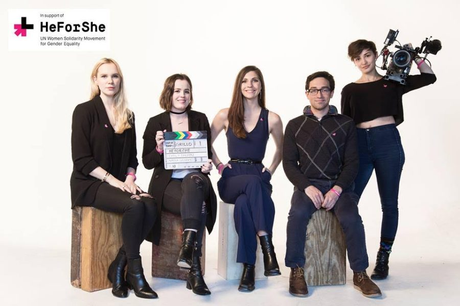 """""""In Support of HeForShe"""" is a film created by students in the hopes of facilitating the discussion of gender inequality."""