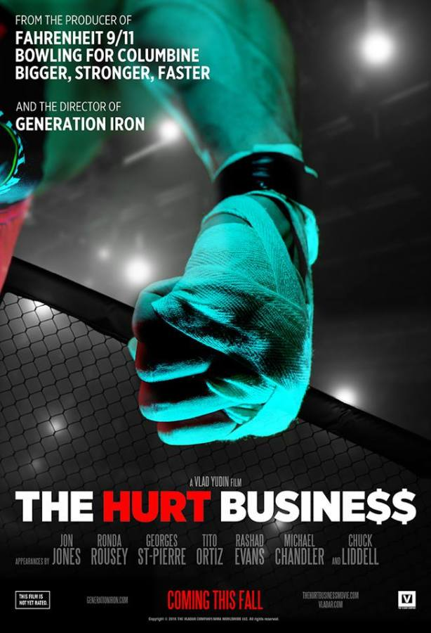 The Hurt Business explores the entertainment business of mixed martial arts fighting and is now in theaters.