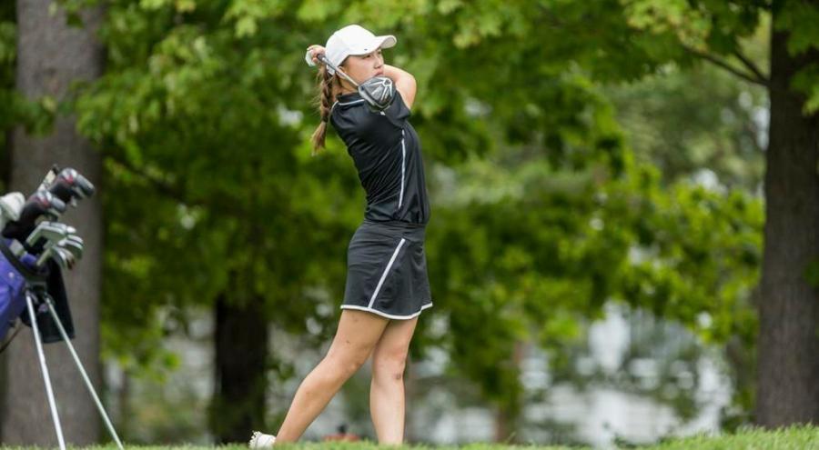NYU women golf team take third place at the Mt. Holyoke Invitational.