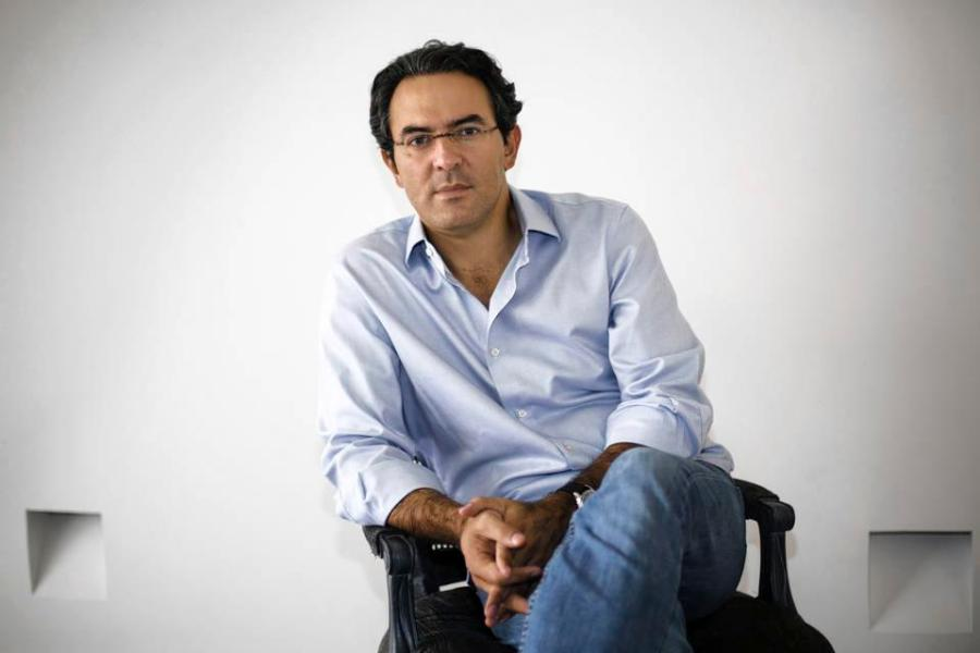 """With a recently-published English version of his book """"Reputations,"""" Juan Gabriel Vasquez took to Strand Bookstore to discuss the hardships that inspired his writing about his hometown in Bogota, Colombia."""