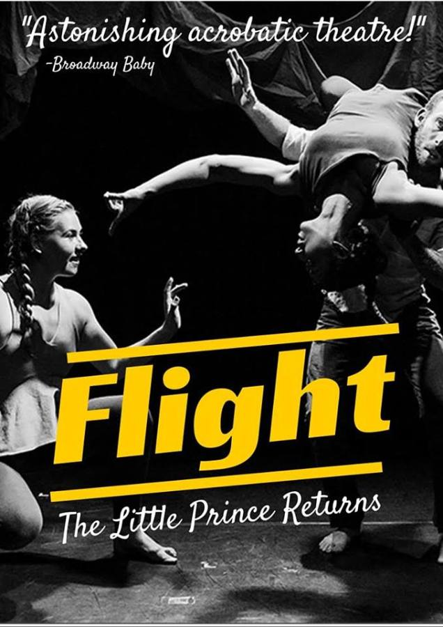 Tonight at the Barrow Street Theater a production of Flight was performed as a part of the Fringe Encore Festival.