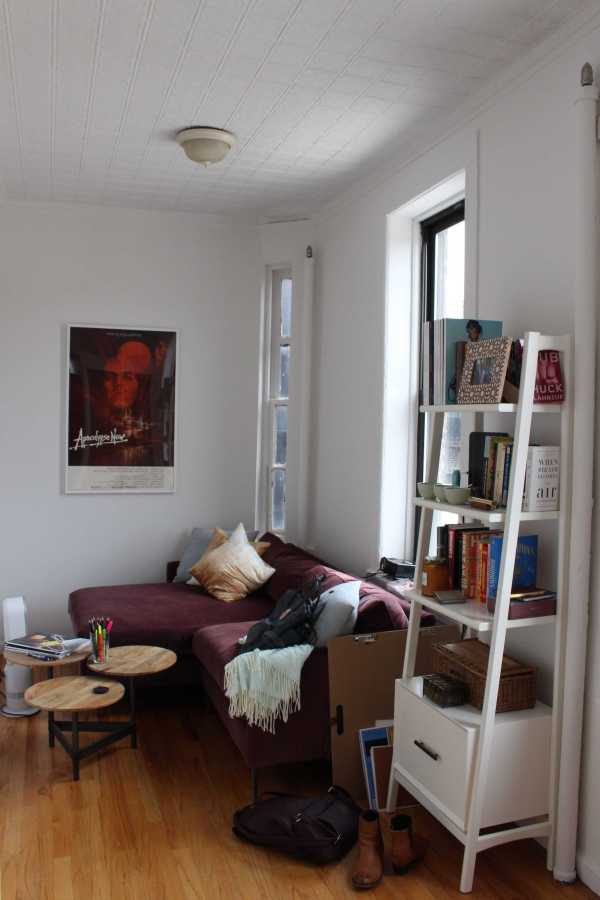 Despite the limitations of her space, sophomore Agne Numaviciute managed to create a sense of home in her small, one-room apartment.