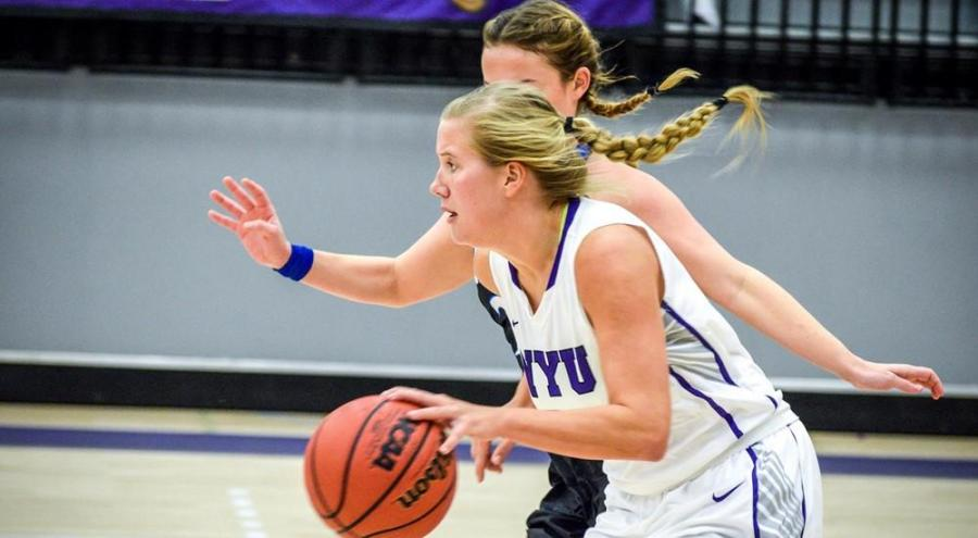 Kaitlyn Read was NYU's top scorer in its victory against New Paltz on Tuesday.