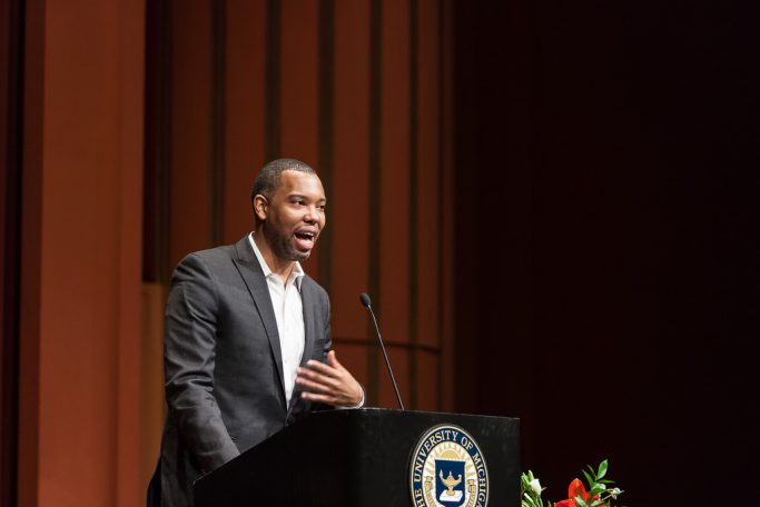"""Ta-Nehisi Coates, esteemed journalist and author of """"Between the World and Me,"""" is expected to join the NYU faculty starting September 2017."""