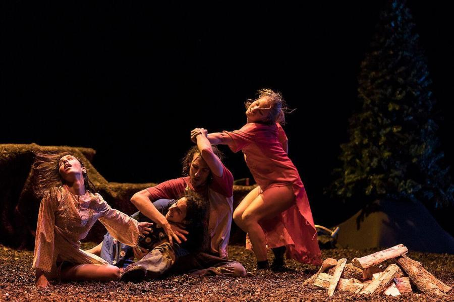 """The eerie dance theater performance, """"Future Perfect,"""" runs at the Baruch Performing Arts Center till Sunday."""