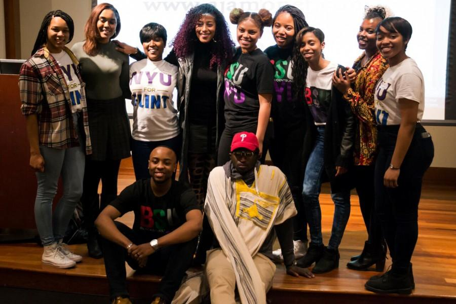 The Black Student Union gathered for the Black Solidarity Conference in February, 2016. The Black Student Union is working with African History Month this year to organise a range of events that celebrate African heritage.