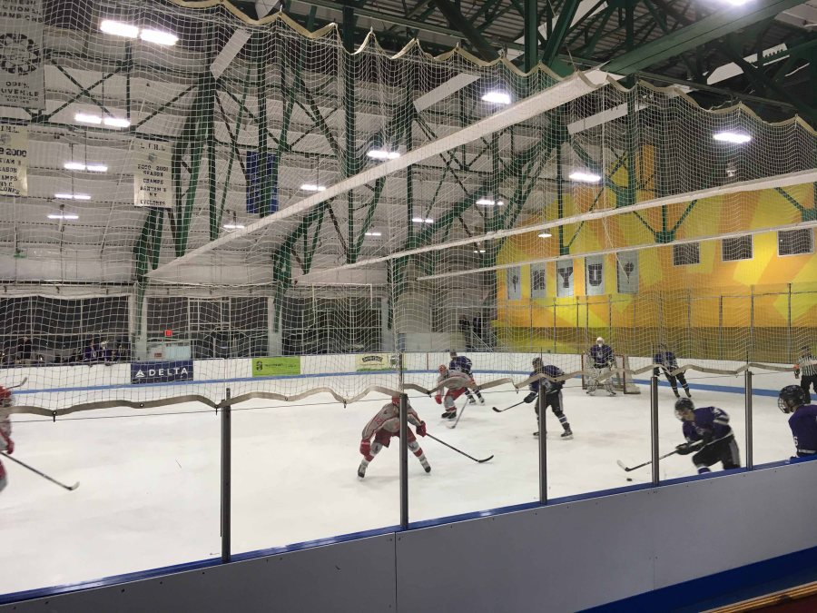The NYU hockey team had a busy weekend with two very close, competitive games.