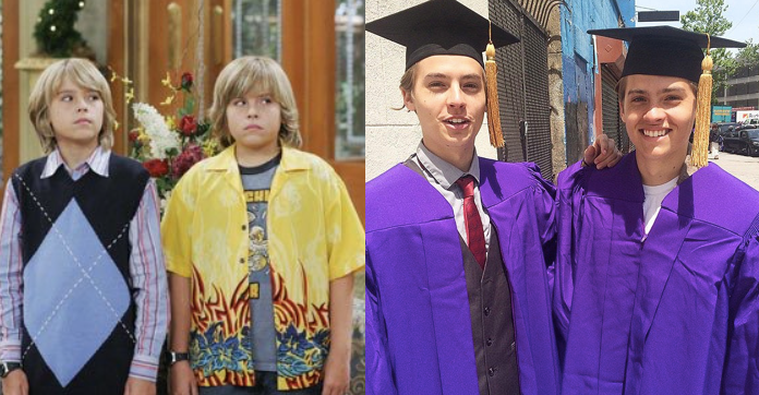 """Dylan and Cole Sprouse, known best for their roles as Zack and Cody Martin, respectively, on """"The Suite Life of Zack and Cody,"""" are NYU 2015 graduates."""