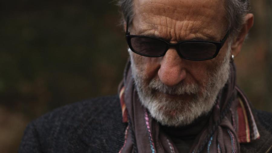 Retired New York City Police detective Frank Serpico at his cabin in the woods in Antonino DAmbrosios film Frank Serpcio.