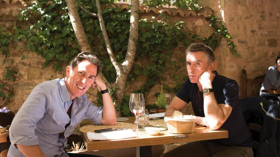 """Rob Brydon [Rob] and Steve Coogan [Steve] in Michael Winterbottoms """"The Trip To Spain ."""""""