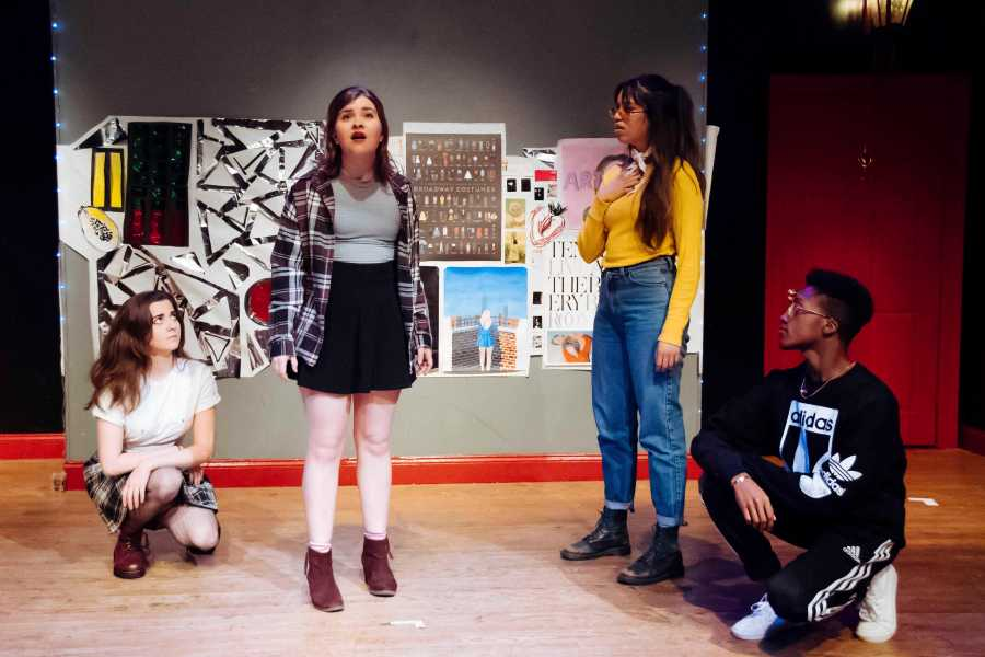 """Attacking stereotypes about modern youth through a barrage of musical-comedy, """"Aliens Coming"""" is a lighthearted critical success from Tisch senior Joe Kelly."""