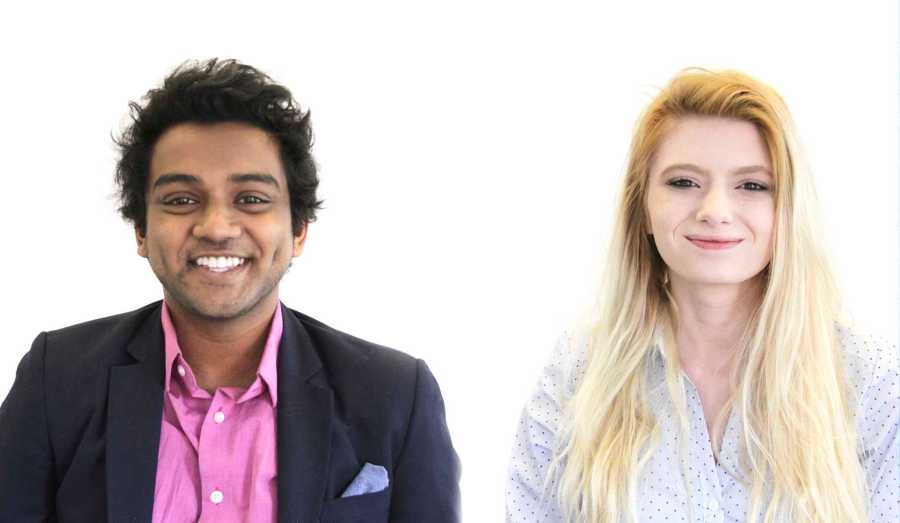 From left to right, CAS Senior Chetan Hebbur and CAS junior and Community Outreach Manager Alidia Findley sat down with WSN to discuss their campaign for the local government.