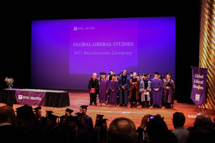 Global Liberal Studies Commencement '17