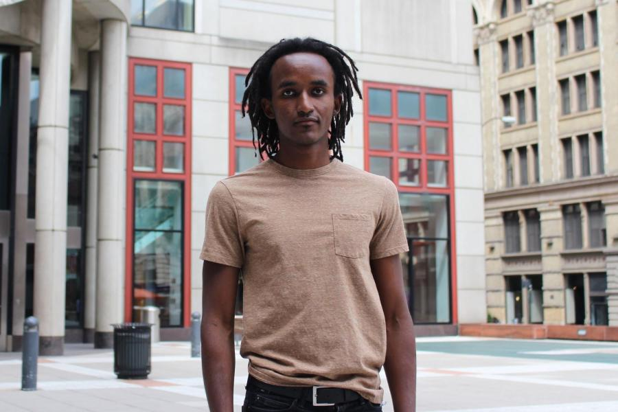 Jeremy Muhia is a CAS senior who moved to the United States from Kenya with his mother at the age of eight.