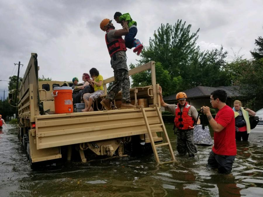 534 NYU students in coastal Texas and 60 in Louisiana live in areas directly affected by Hurricane Harvey.