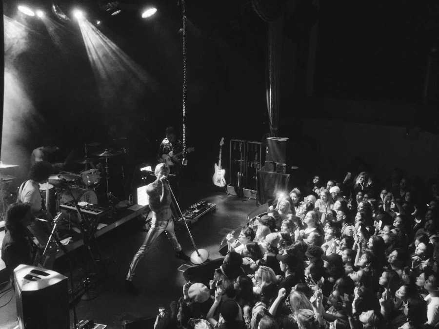 The Neighbourhood played a sold out concert at Terminal 5 on Wednesday, led by their ever shirtless lead Jesse Rutherford.
