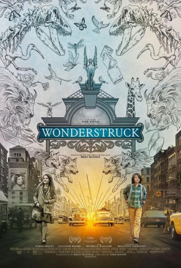 """""""Wonderstruck"""" is based on the childrens book of the same name written by Brian Selznick, and tells the story of young boy from the midwest and a young girl in New York. A series of events unfold as they both seek a mysterious connection."""