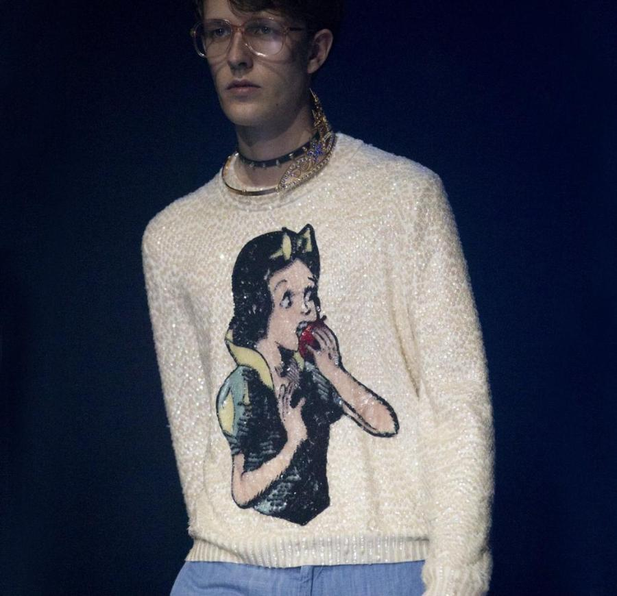 Guccis SS18 season line was a nostalgic flashback to the 80s.